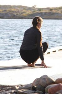 private yoga in cornwall